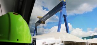 Tallinkin uuden LNG-käyttöisen matkustaja-autolautan köli laskettiin Meyerin Turun telakalla