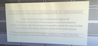 Newseum-museo, Washington D.C.