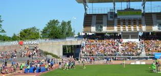 Kisakuva Paavo Nurmen stadionilta