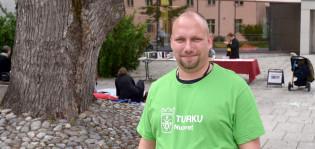 Nuoriso-ohjaaja Petteri Viitanen