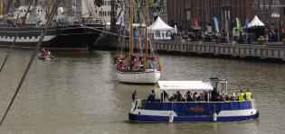 Pikkuföri Tall Ships Racesissä
