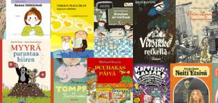 Lukijoiden rakastamia Tammen lastenkirjoja pian lainattavissa