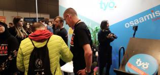 Työpiste osallistui Rekryexpo-tapahtumaan Turun messukeskuksessa