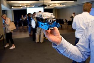 Koululaisten tekemä robotti