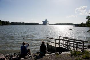 Ruotsin laiva Ruissalossa