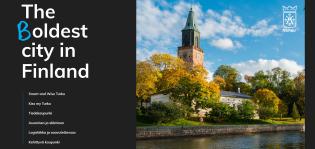 Turku - The (B)oldest city in Finland. Esityksen aloituskuva.