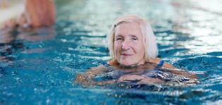 Seniorirannekkeella voi käydä uimassa ja kuntosalilla.
