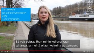 Sosiaalipäivystys video (Tiina Kauppinen)