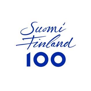 Suomi 100 -juhlavuoden logo