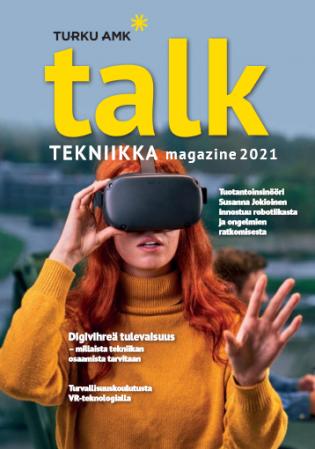 Talk Magazinen Tekniikka-teemalehden kansi
