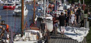 Purjelaivatapahtuma The Tall Ships Racesin tavoitteena yli miljoonan sponsorointitulot ja miljoonayleisö