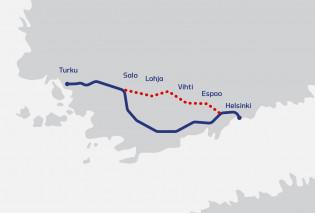 Tunnin juna -kartta