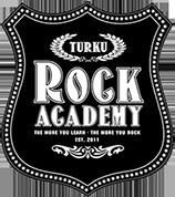 Kuvake jossa lukee Turku Rock Academy