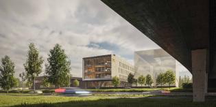 Havainnekuva Turku Energian tulevasta pääkonttorista.