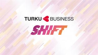 Shift-tapahtuman ja Turun yhteislogo