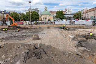Kauppatorin arkeologiset kaivaukset