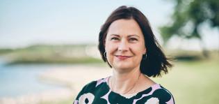 Kaupunginjohtaja Minna Arve.
