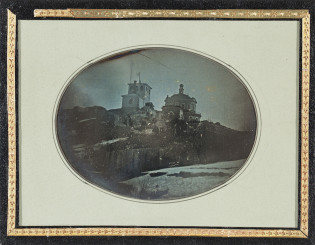 Vanha valokuva Vartiovuorenmäestä. TMK/valokuva-arkisto