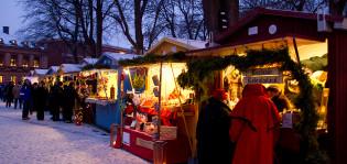 Vanhan Suurtorin joulumarkkinat. Kuva: Esko Keski-Oja