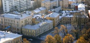 Vanha Suurtori Tuomiokirkon tornista kuvattuna