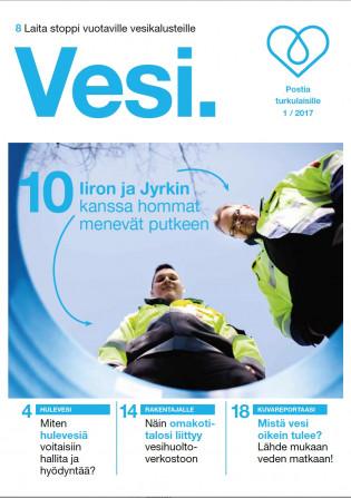 Turun Vesihuollon Vesipiste-lehti