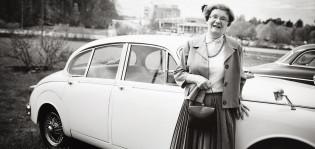 Vintage-tapahtuma Kuralan Kylämäessä