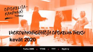 Vuorovaikutustaitoja opiskelun tueksi -kurssin virallinen banneri.