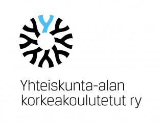 Yhteiskunta-alan korkeakoulutetut ry logo