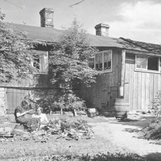 Vanha talo Luostarinmäellä