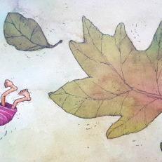 Kuvitus Mervi Lindmanin kirjasta Memmuli