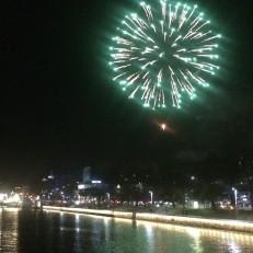 Uuden vuoden vihreä raketti Turussa 2018