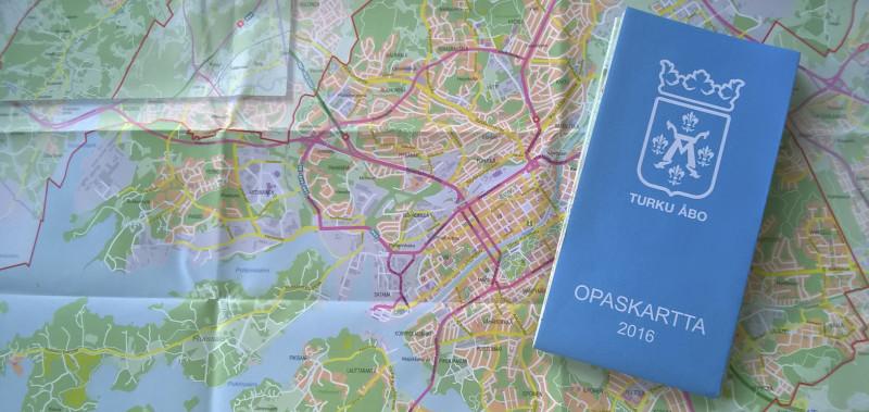 Uusi Opaskartta Turusta Turku Fi