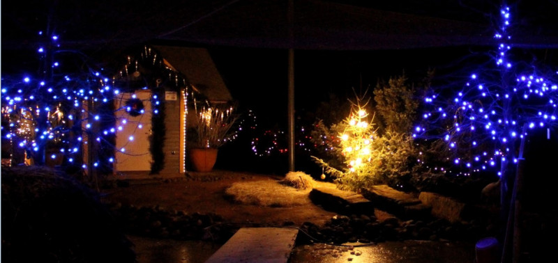 The Lights Will Stay On Over Christmas And New Year S All Way Up To St Knut Day 13 January