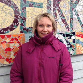 Seikkailupuiston toiminnanjohtaja Ella Piesala