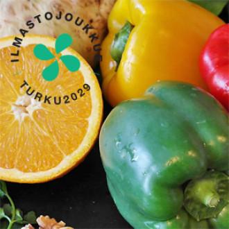 vihanneksia ja hedelmiä