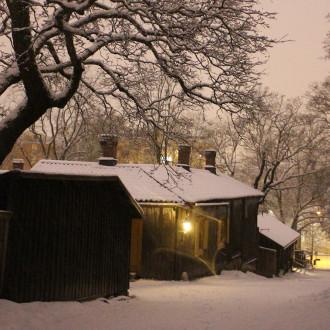 Luostarinmäki talvi