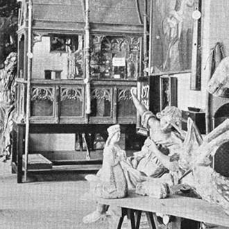 Postikorttikuva Turun linnan huoneesta nro 65 (A 213), n. 1897-1909. Kuva: TMK.