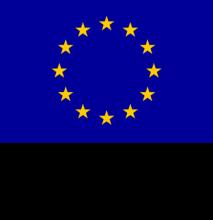 värillinen Euroopan unionin lippu