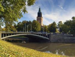 Tuomiokirkko - Aurajoki - Tuomiokirkkosilta
