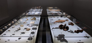 Installaatiokuva Elsa Salosen näyttelystä
