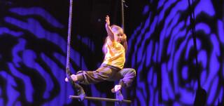 Lasten sirkuskerho Seikkailupuistossa