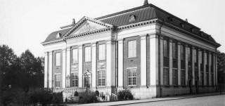 vanha valokuva Bibliothecasta