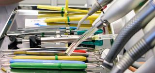 Hammaslääkärin instrumentit