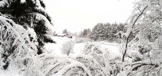 Talvimaisema Kuralan Kylämäellä