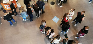 Ihmisiä Study in Turku -messuilla