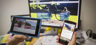 Turku.fi-verkkopalvelu taipuu kaikkiin laitteisiin