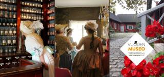 Apteekkimuseo kollaasi Vuoden museo -finalisti