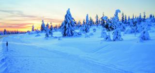 Talvimaisema Nukkumajoella