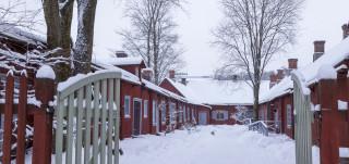 Apteekkimuseo talvella