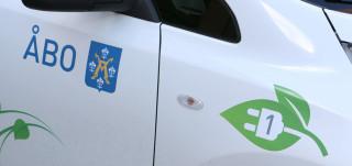 Turun kaupungin sähköauto